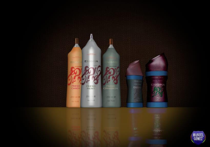 Jabones aromaticos y desodorantes. -1