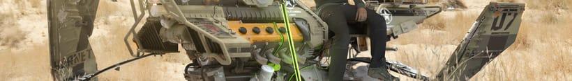 HoverBike: STRIKER - Hornet (Modelaje, iluminación, track e integración) 0