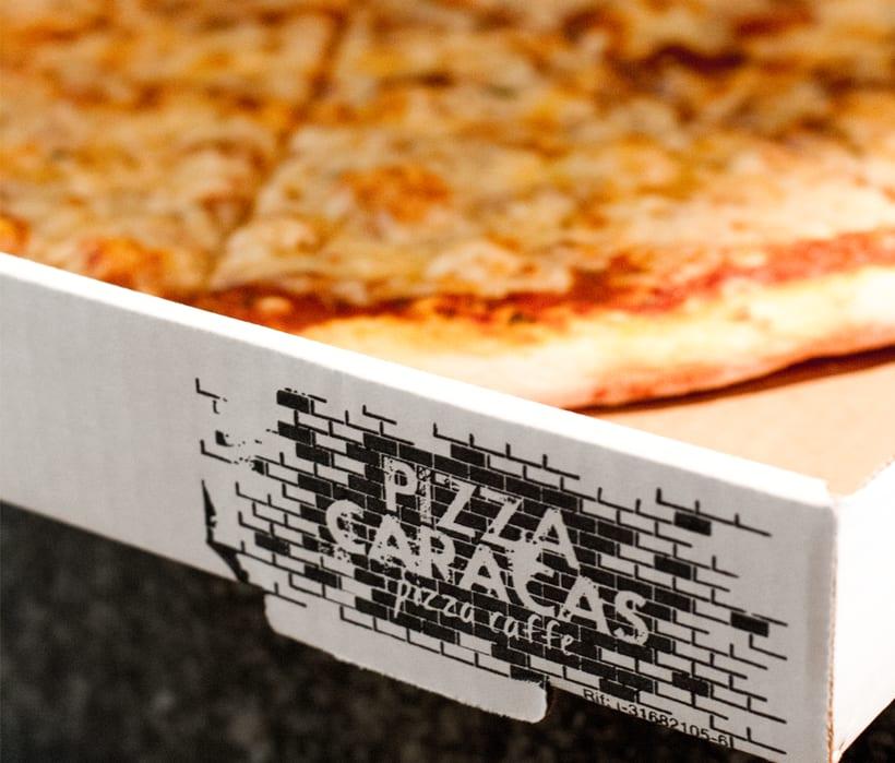 Branding Pizza Caracas 4
