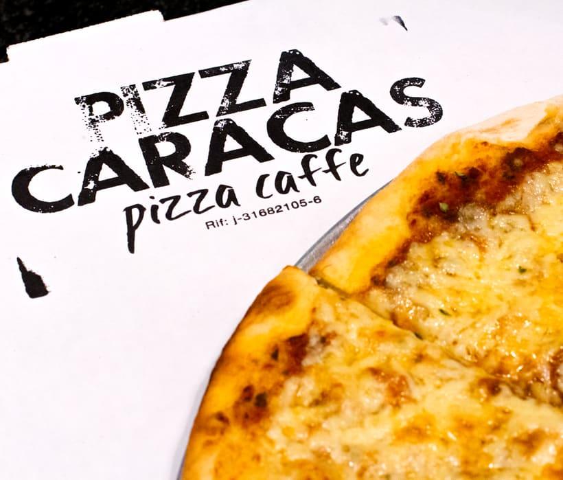 Branding Pizza Caracas 5