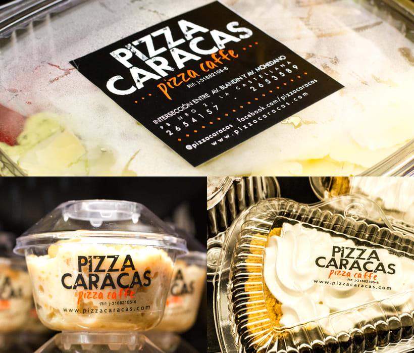 Branding Pizza Caracas 6