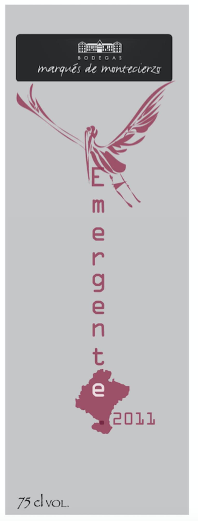 Rediseño packaging  Vinos Emergente 8