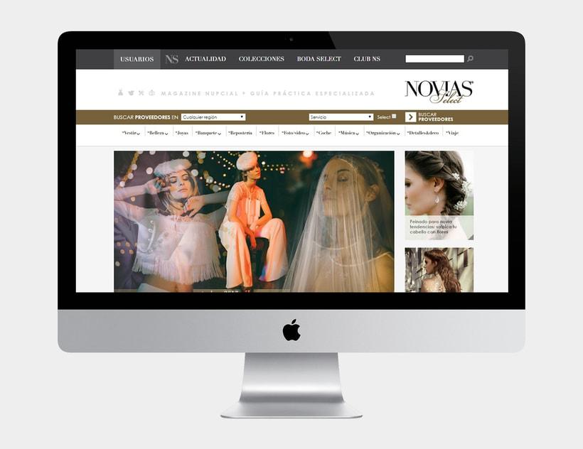 Novias Select. Magazine nupcial online 0