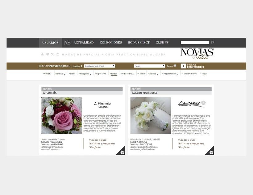 Novias Select. Magazine nupcial online 2