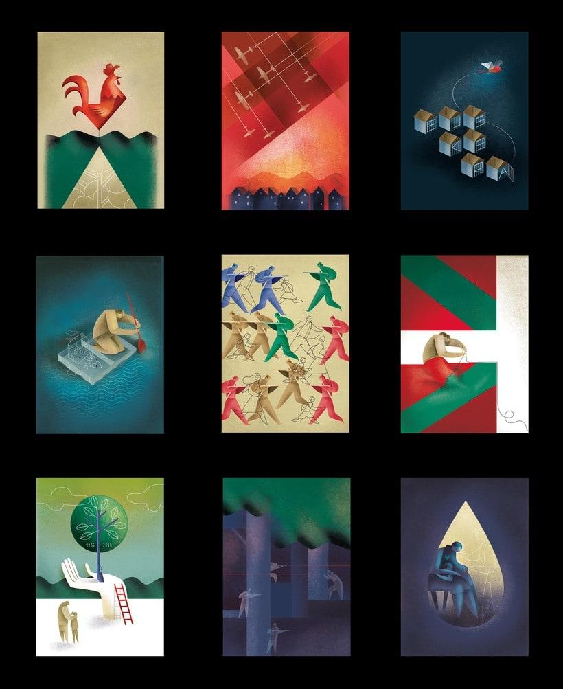 HERMES - Ilustraciones 80 aniversario Guerra Civil 6