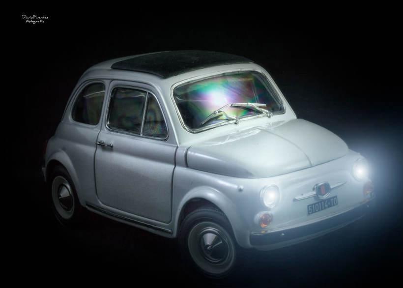 FIAT 500 | Modelo a escala -1