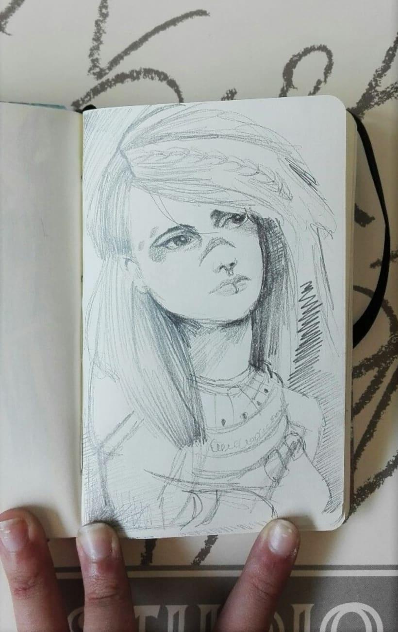 Bocetos rápidos de retratos 2