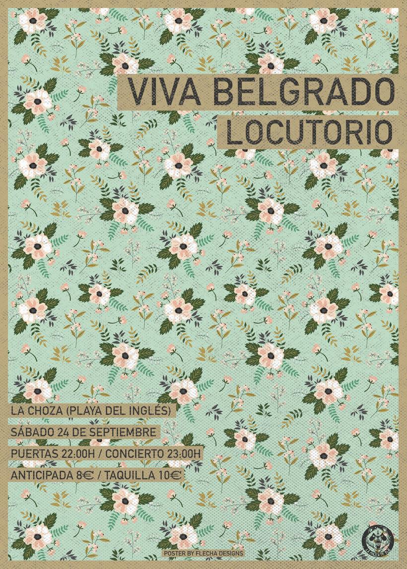GIG Poster Viva Belgrado -1