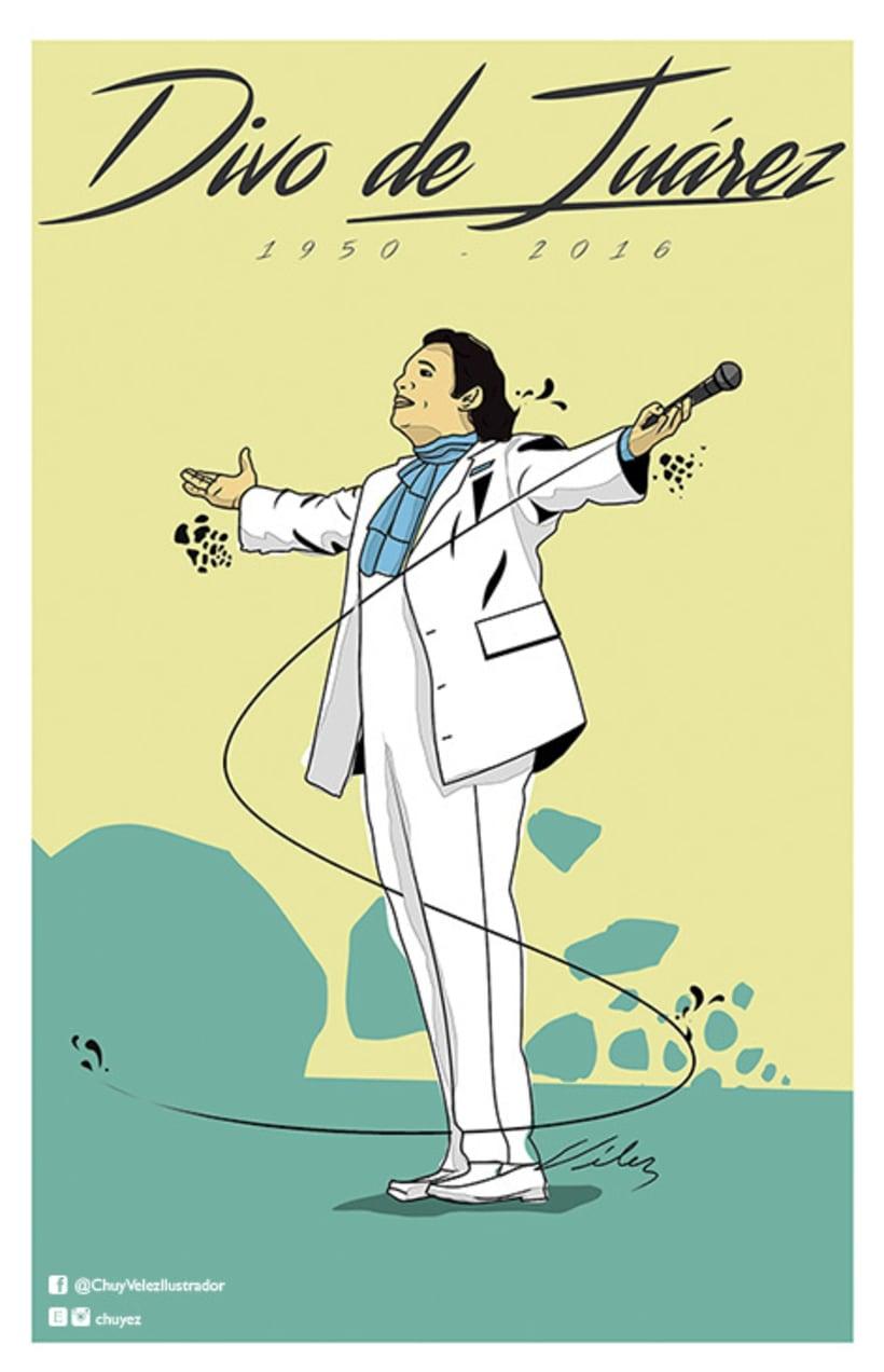 Ilustración tributo Juan Gabriel -1