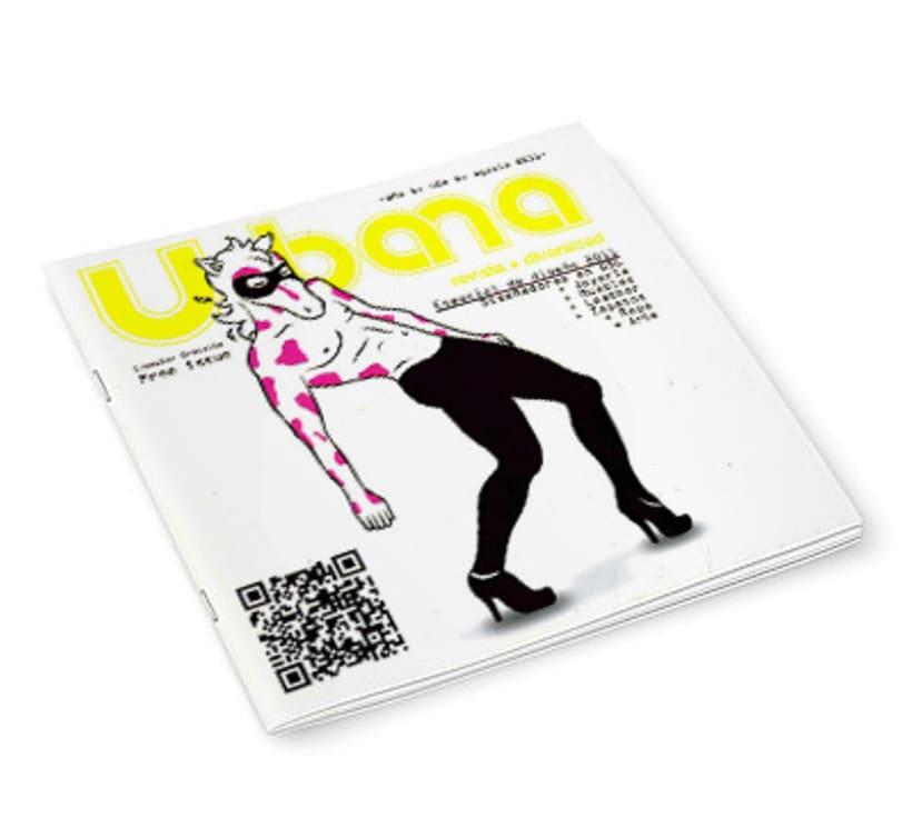 Ilustración para portada revista 0