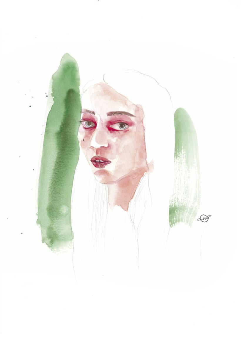 Watercolour Girls/ Chicas de acuarela -1