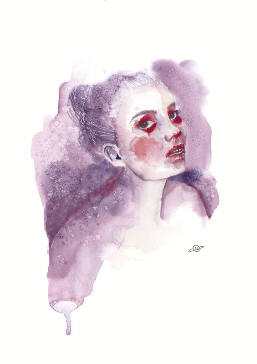 Watercolour Girls/ Chicas de acuarela 0
