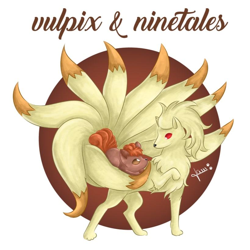 Pokemon - Vulpix & Ninetales 2