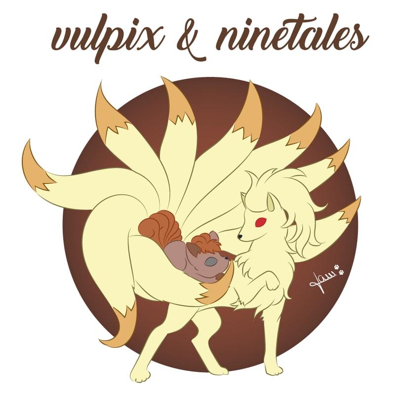 Pokemon - Vulpix & Ninetales 1