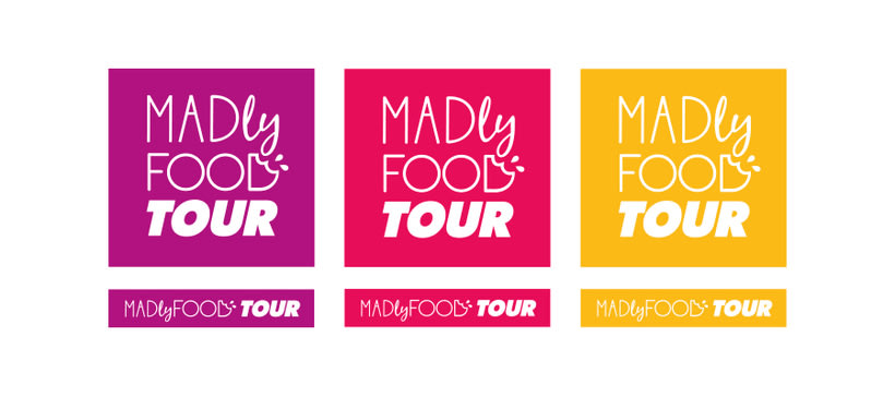 Madly Food Tour - Identidad visual 3