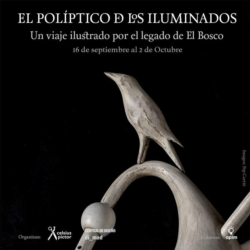 El Políptico de los Iluminados (Un viaje ilustrado por el legado de El Bosco) 0