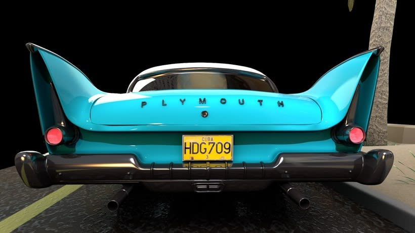 Plymouth Fury -1