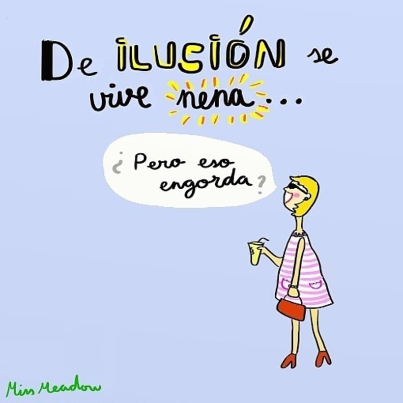 Miss Meadow ilustraciones Sin más 0