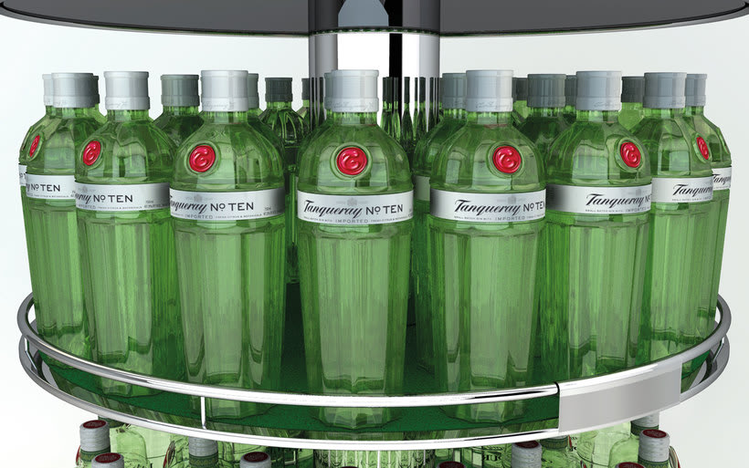 Tanqueray Expositor 2