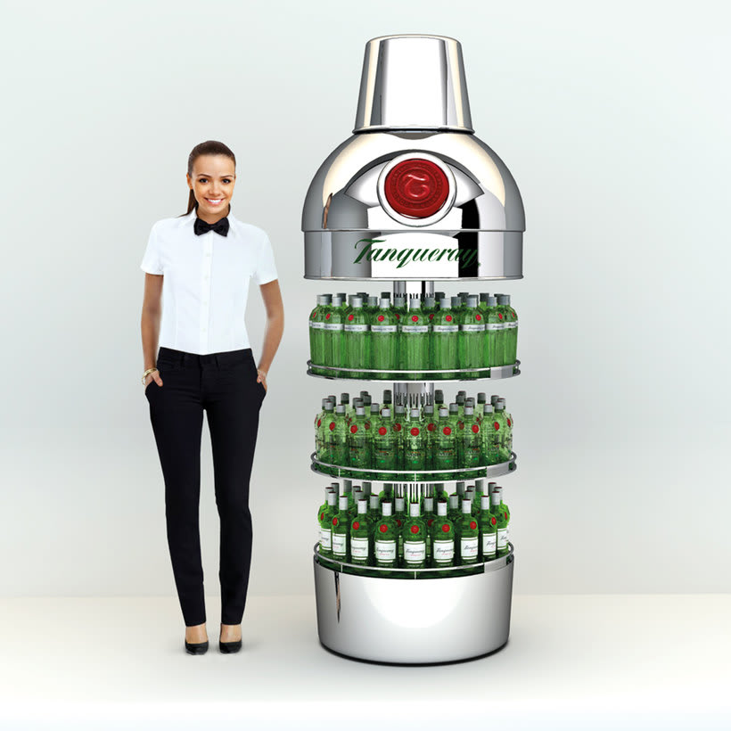 Tanqueray Expositor 0