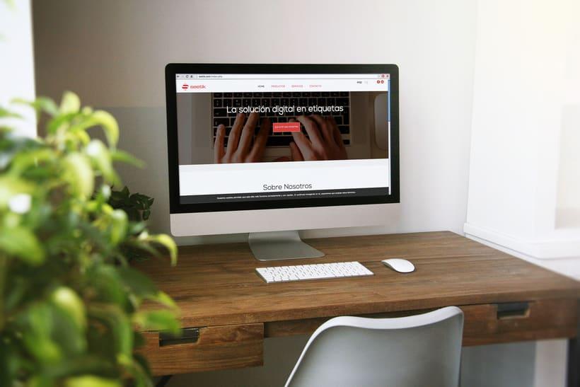 Seetik. Página web responsive. 0