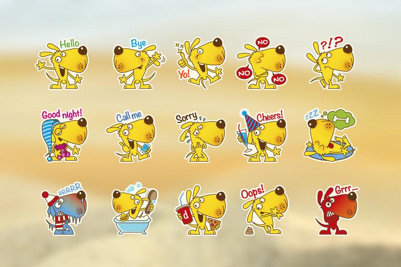 Doggie Stickers Set 3