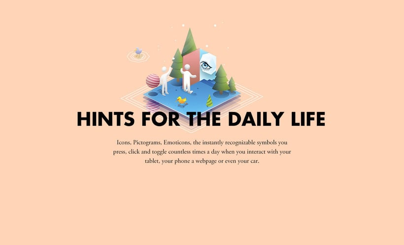 Hints for the daily life - Pictograms 0