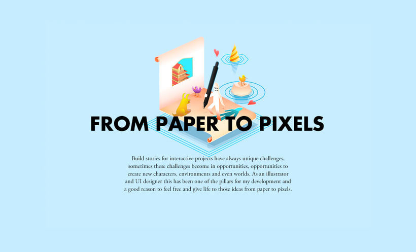 From Paper to Pixels - Illustrations 0