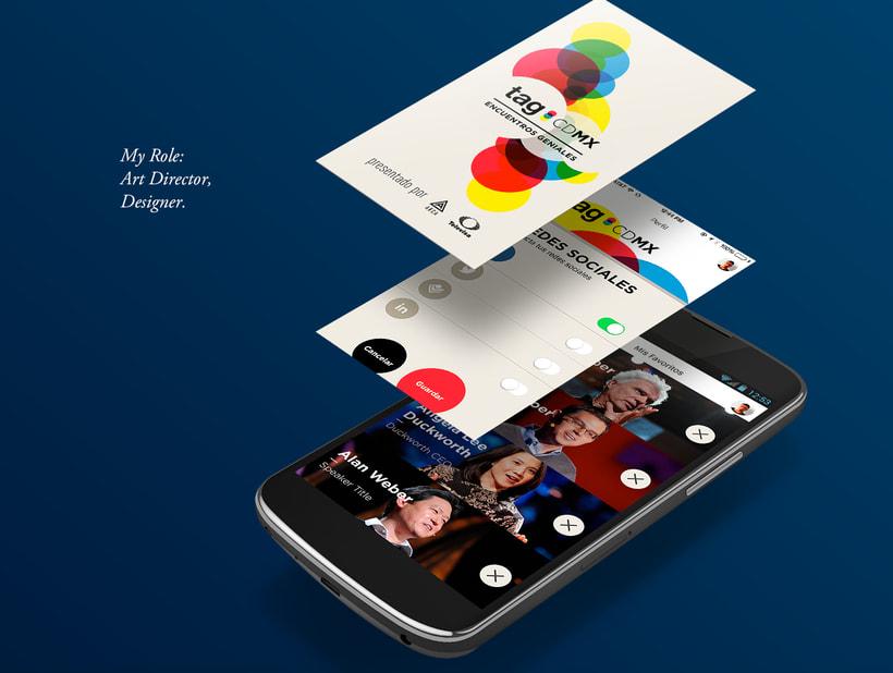 TAG CDMX - Mobile App 0
