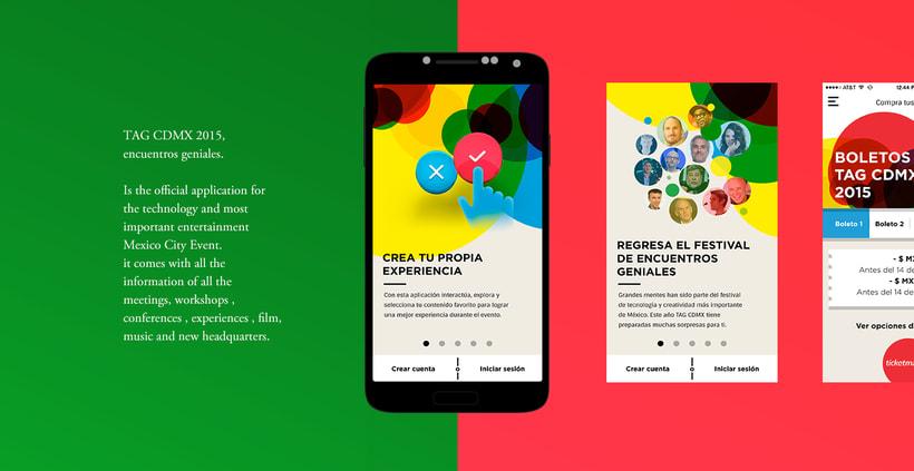 TAG CDMX - Mobile App 1
