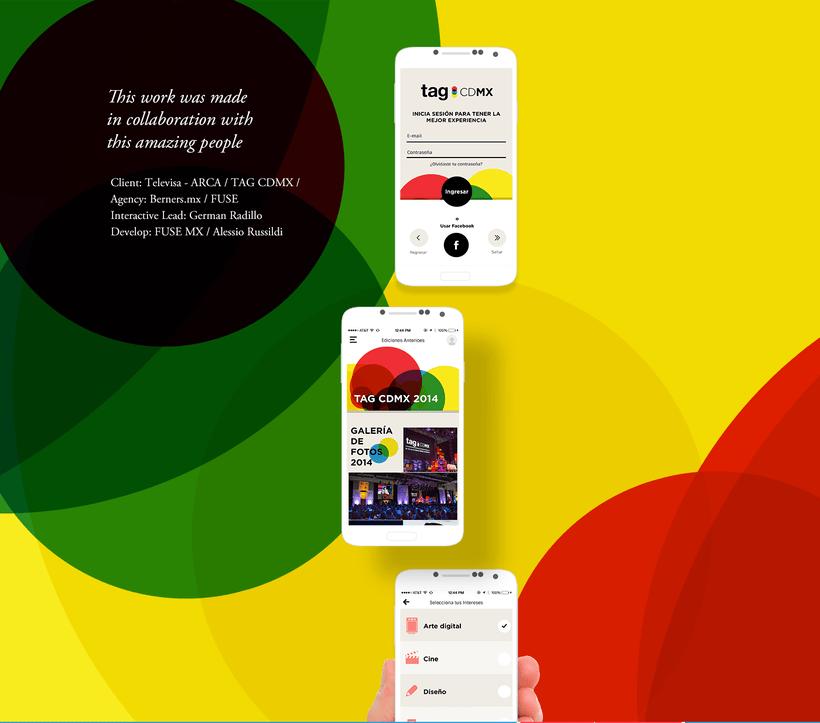 TAG CDMX - Mobile App 3