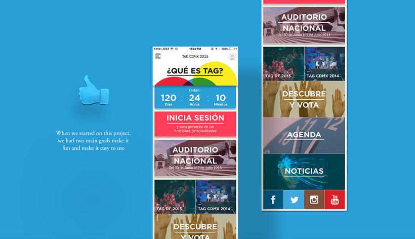 TAG CDMX - Mobile App 4