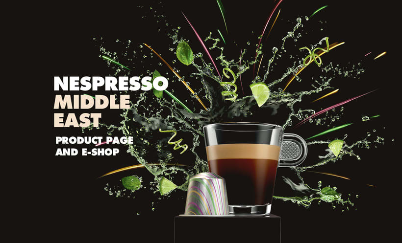 Nespresso Middle East - Product Page E-shop -1