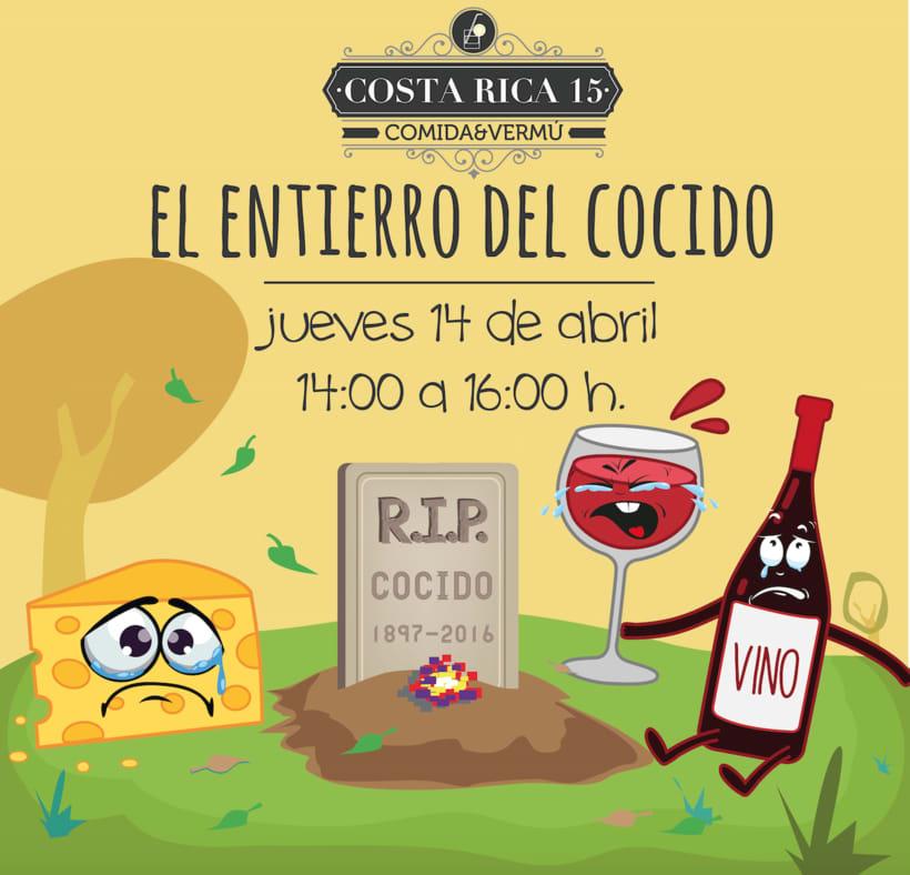 Logo Restaurante COSTA RICA 15 6
