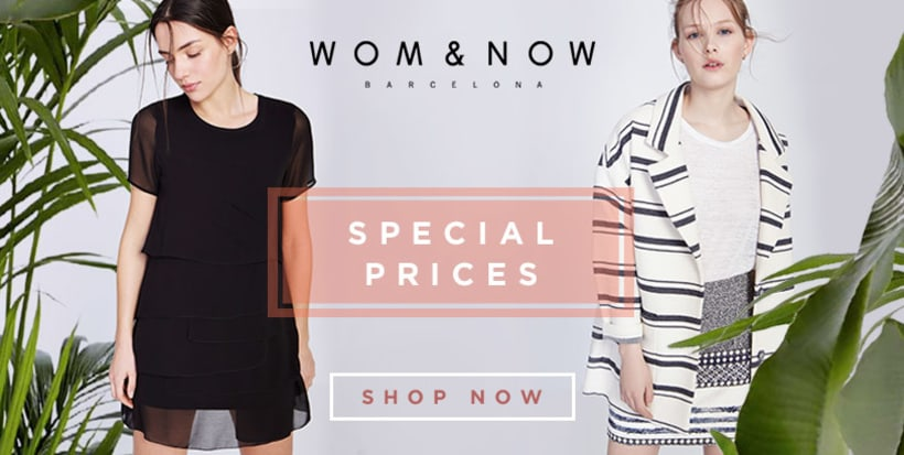 Special Prices banners for Wom&Now 0