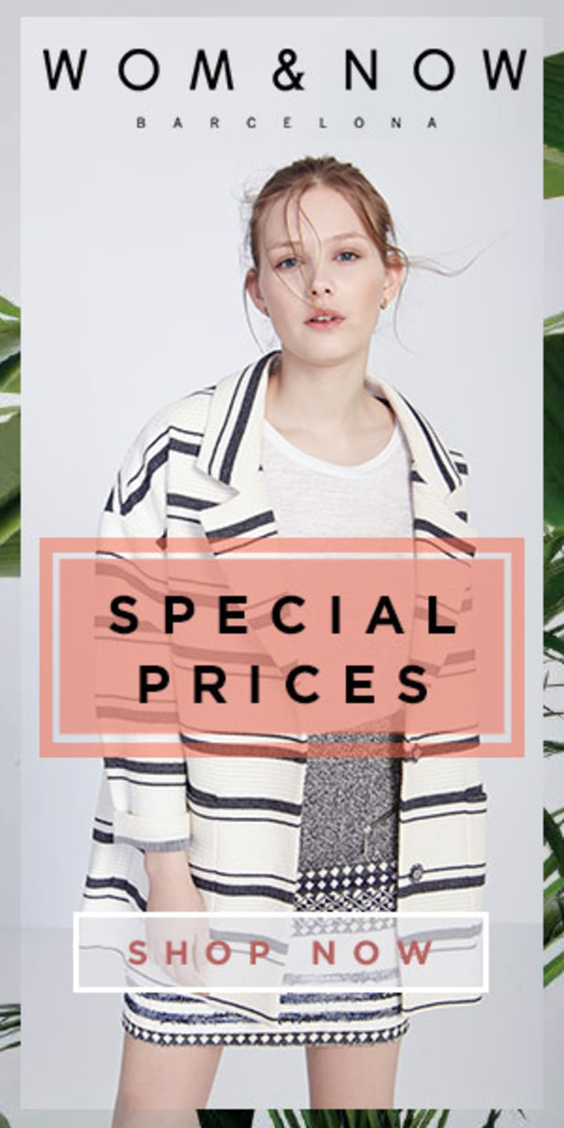 Special Prices banners for Wom&Now 1