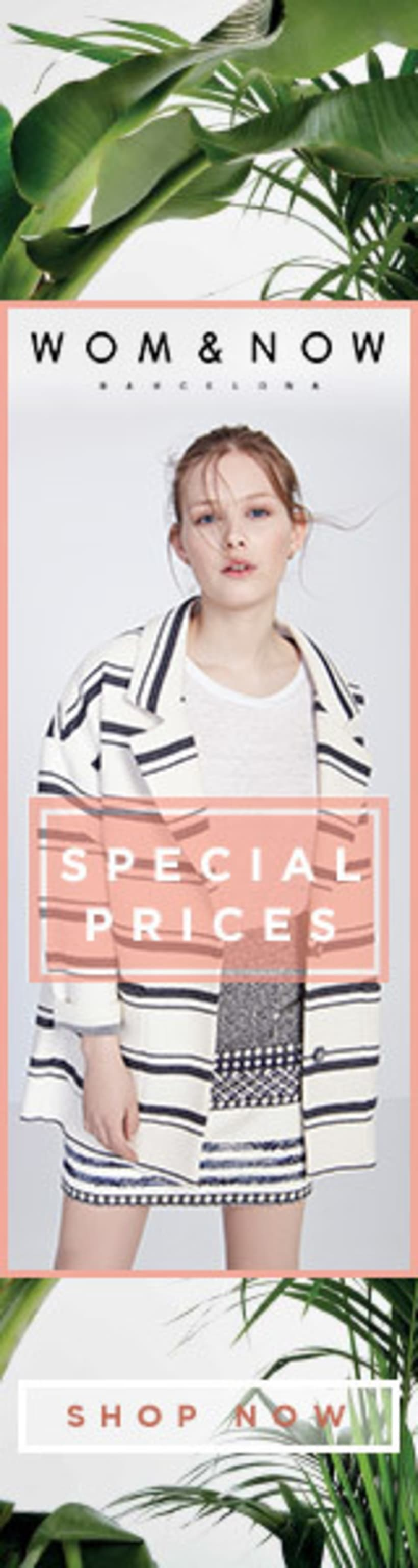 Special Prices banners for Wom&Now 3