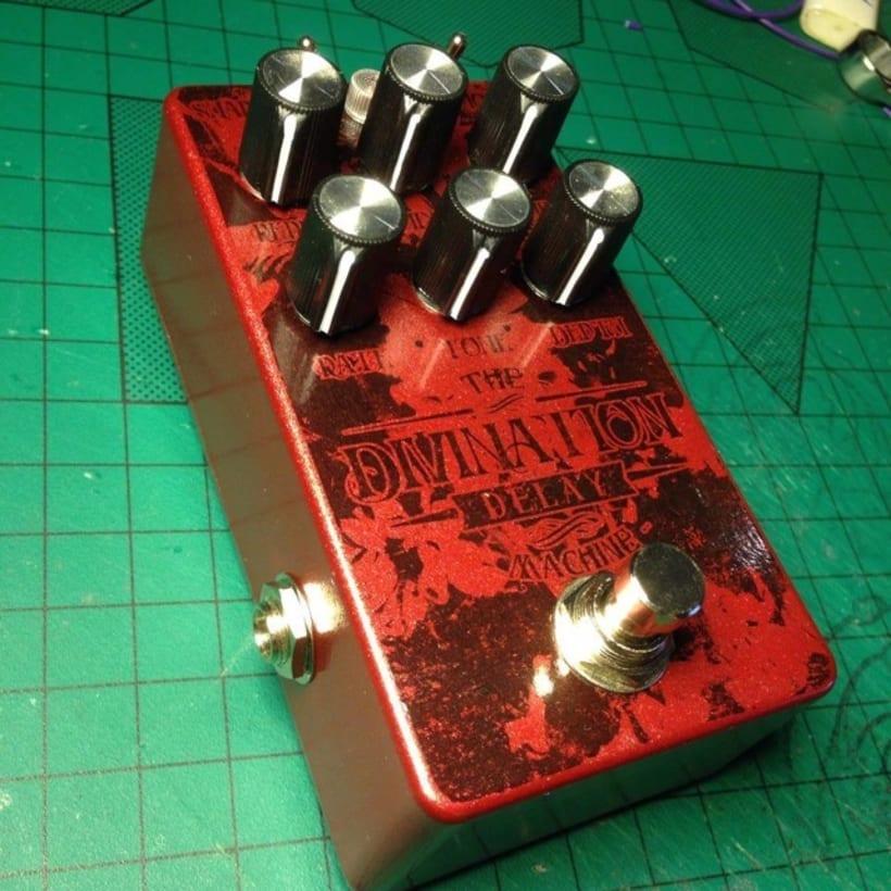 Diseño de pedales de guitarra 1