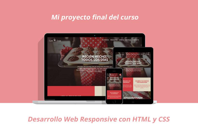 Proyecto de Desarrollo Web Responsive con HTML y CSS 0