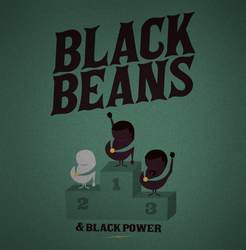 Black Beans. 1
