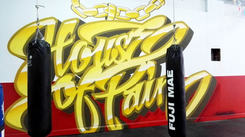 """""""House of pain"""" Boxing school. 3"""
