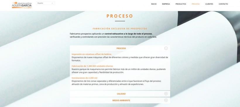 Agustin García, industrias gráficas 0