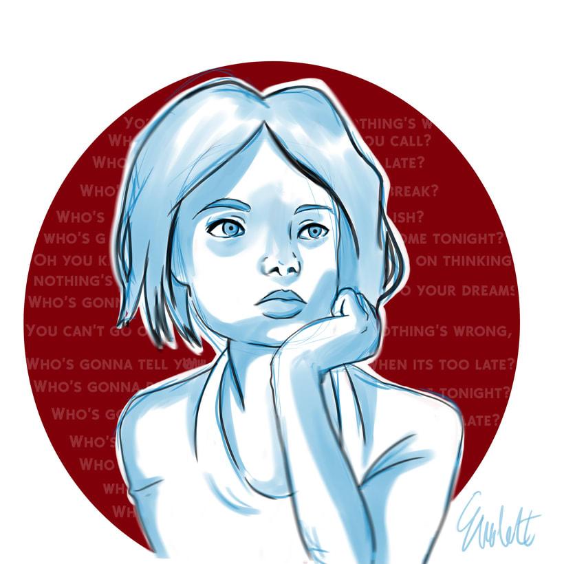 Portfolio ilustración digital juvenil 10