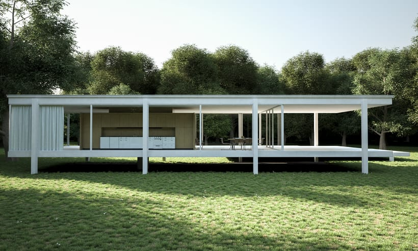 Proyecto final Farnsworth house  0