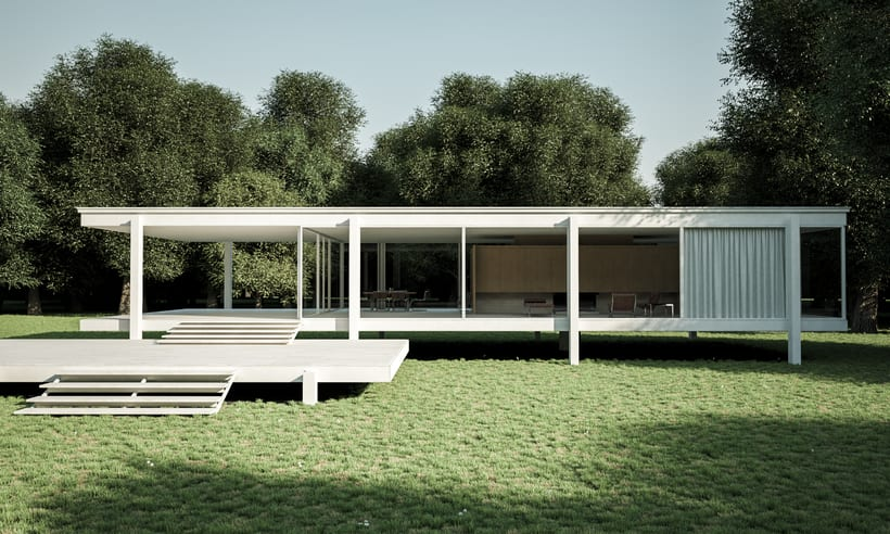 Proyecto final Farnsworth house  1