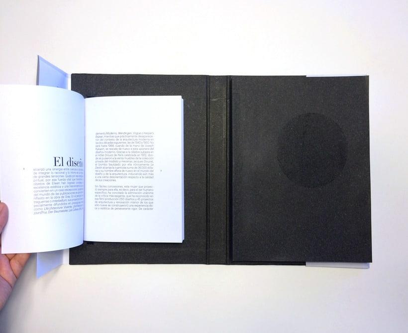 Proyecto editorial. Eileen Gray  5