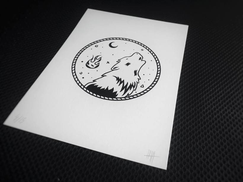 Limited Serigraphy Prints 1