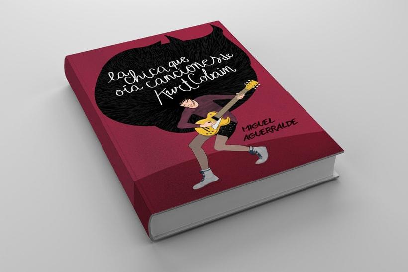 """Portada novela """"La chica que oía canciones de Kurt Cobain"""" 0"""