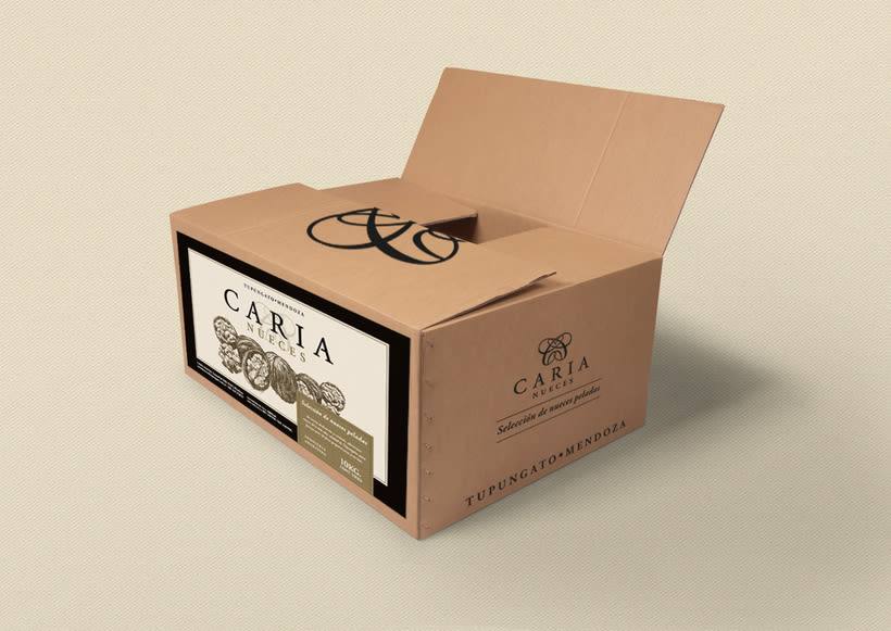 Branding & Packaging :: Caria nueces 4