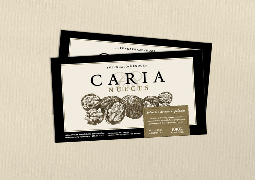 Branding & Packaging :: Caria nueces 3